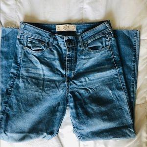 High Rise Super Skinny Denim Jeans